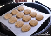Baking for the Barbeque: Apple Wood Smoked 100% Whole Wheat Sugar Cookies.