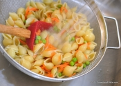 "Simple summer sides: ""Better than The Box"" Bacon and Ranch Pasta Salad."
