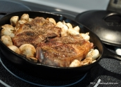 RecipeBeta: Manhattan-Braised Lamb Shoulder Chops