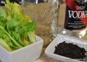 Celery-peppercorn vodka: the cheapest booze you'll wait for