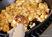 Brassica Better when Browned: Curry Roasted Cauliflower.