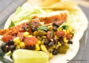 This is why you stock a pantry: Easy Corn and Black Bean Salsa.