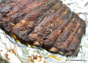 Ribs on rails: Foolproof barbeque pork spareribs.