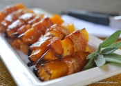 RecipeBeta: Maple-Bacon Butternut Squash Sticks