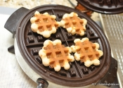 Simple, Unique, and Darn Tasty: Pennsylvania Dutch Cinnamon Waffle Cookies with Maple Glaze.