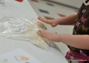 Four ingredients, a zip-top bag, and the patience of a saint: Baking bread with preschoolers.
