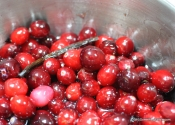 Pectin Powered: Spreadable Red Wine Cranberry Sauce.