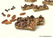 A Test-Run for Holiday Cookie Baking: Salted Caramel Chocolate Pecan Bars.