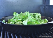 A Simple Skillet Recipe for Swiss Chard (with Bacon and White Balsamic Vinegar).
