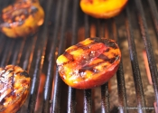 This is How You Grill a Stonefruit: Tangy Cardamom-spiced Colorado Flame Crest Peaches.