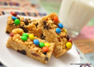 Spring Break Cooking for the Kids: Trail Mix and Cereal Breakfast Bars.