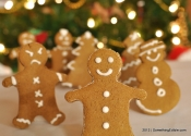 Have Yourself a Whole Grain Holiday: (Eggless) Whole Wheat Gingerbread Cookies.