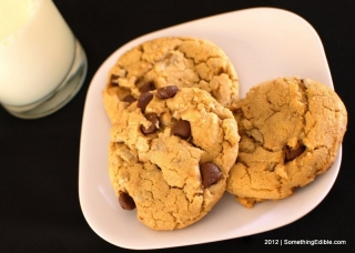 Sunflower and Whole Wheat Chocolate Chip Cookies