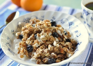 Blueberry + White Chocolate Granola